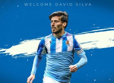 Signed, sealed, delivered: David Silva.