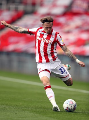 James McClean of Stoke City.