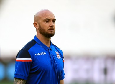Stephen Ireland hasn't played since his spell at Stoke City ended in 2018.