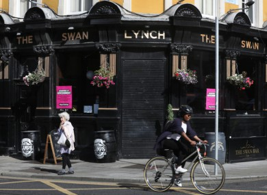 Pubs are set to remain shuttered in Dublin, with restuarants also closing, under new restrictions.