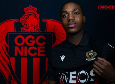 Nice announced the signing of Deji Sotona today.
