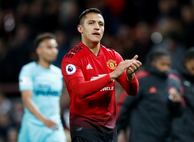 Sanchez: 'My time at Manchester United has finished and I only have words to say thank you, I clarify and close it.'