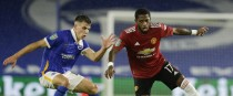 Jayson Molumby of Brighton & Hove Albion keeping tabs on Manchester United's Fred.