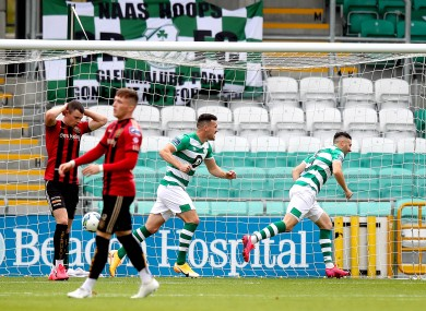 Winner: Danny Lafferty's third goal of the week was a big one.