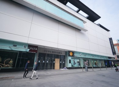 File image of Debenhams store.