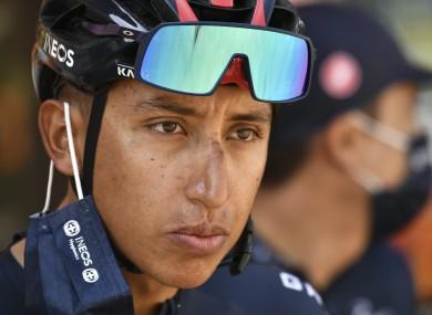 Egan Bernal has withdrawn from the Tour de France.