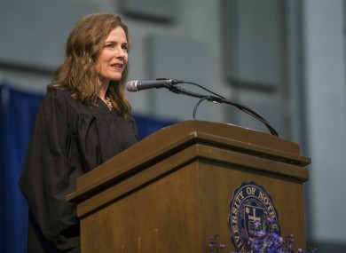 Amy Coney Barrett is tipped to be nominated for the Supreme Court
