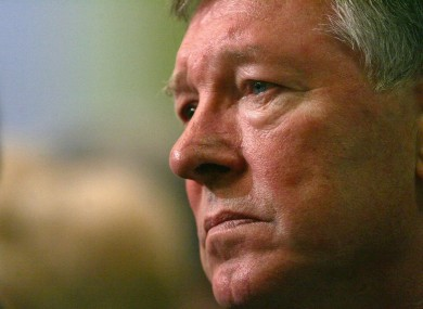 File photo of Alex Ferguson from 2005.