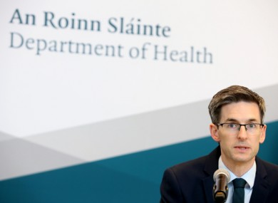 Acting Chief Medical Officer Dr Ronan Glynn