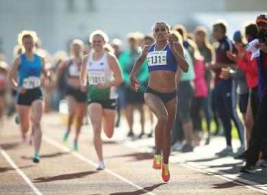 File photo of Ireland's Nadia Power.
