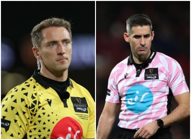 Brace and Murphy will take charge of European semi-finals.