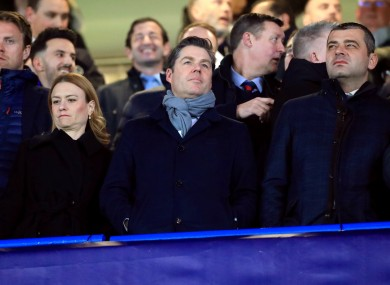 Masters, centre, believes the Premier League is not immune from a financial meltdown.