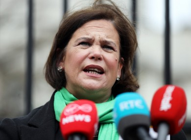 Mary Lou McDonald confirmed the resignation of Catherine Kelly this evening.