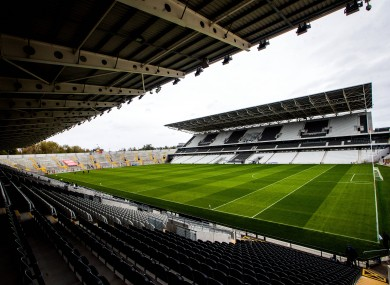Pairc Ui Chaoimh before yesterday's action.