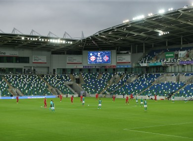 A view of Windsor Park.