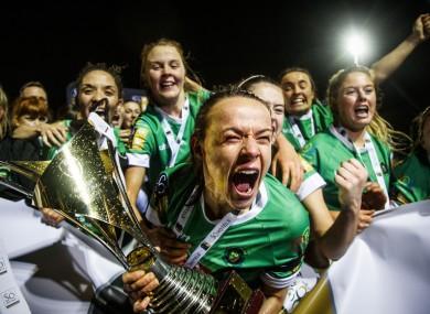 Áine O'Gorman and her Peamount side won the league for the first time since 2012 last season.