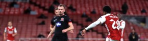 Dogged Dundalk have errors punished in Europa League defeat to Arsenal