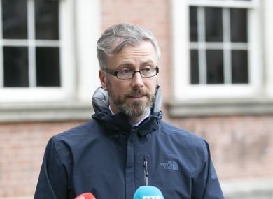 Minister for Children Roderic O'Gorman