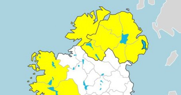 Storm Aiden: Status Yellow wind warning for Donegal, Galway and Mayo issued