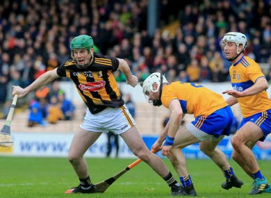 Eoin Cody in action for Kilkenny against Clare in February.