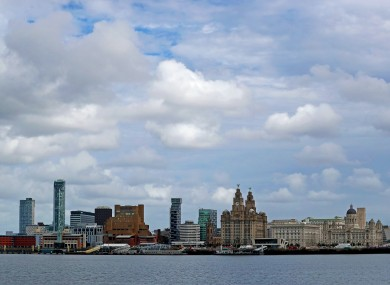 Liverpool is among the cities under local lockdown restrictions.