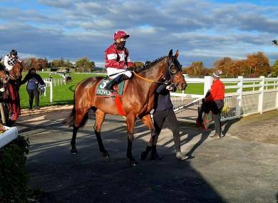 Tiger Roll returns after his run at Navan.