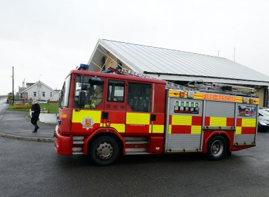 The Essex County Fire and Rescue Service were involved in helping rescue the men after they became trapped in a tumble dryer