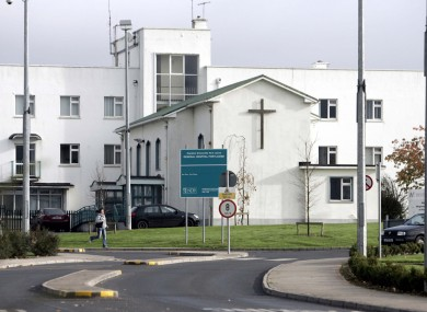 File photo of Midland Regional Hospital Portlaoise.