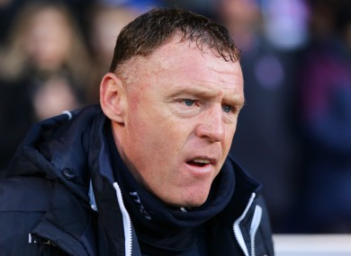Graham Coughlan: no longer in charge at Mansfield Town.