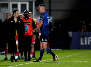Sexton went of injured against Dragons - 'a precaution,' Leo Cullen said at the time.