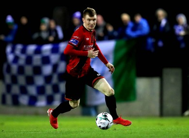 Drogheda United's Mark Doyle was amongst their goalscorers today.