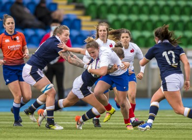 It finished 13-13 between Scotland and France.