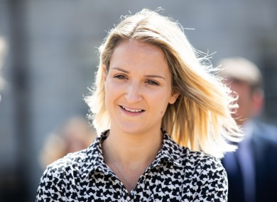 File image of Justice Minister Helen McEntee.
