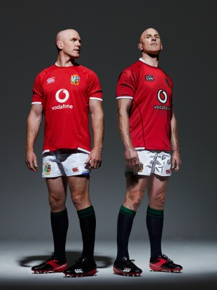 Vodafone ambassador Paul O'Connell at the British & Irish Lions jersey launch for the 2021 tour of South Africa.
