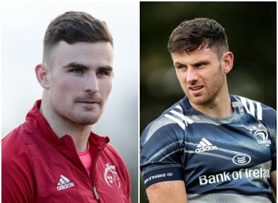 Munster's Shane Daly and Leinster's Hugo Keenan are among the uncapped players included.