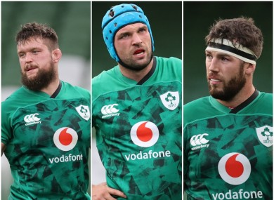 Andrew Porter, Tadhg Beirne, and Caelan Doris are among Ireland's jackal threats.