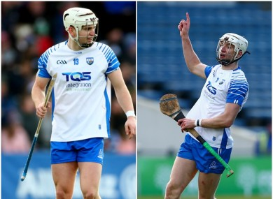 Dessie Hutchinson and Jack Fagan are the new faces in the Waterford attack.