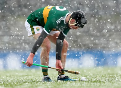 File photo of Kerry's Shane Conway.