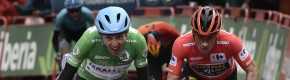 Vuelta victory for Dan Martin as tearful Irishman claims stage three