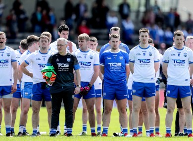 The Waterford footballers were due to play Antrim on Sunday.