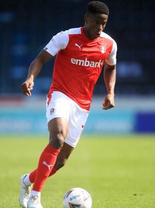 Chiedozie Ogbene of Rotherham United.
