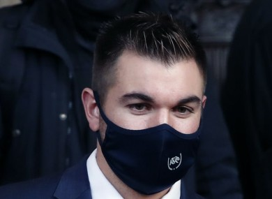 Pictured is Alek Skarlatos.