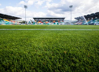 Tallaght Stadium will host the Premier Division meeting of Shamrock Rovers and Derry City on Saturday.
