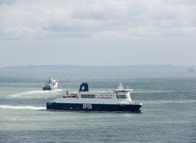 The service will be operated by Danish international shipping company DFDS.