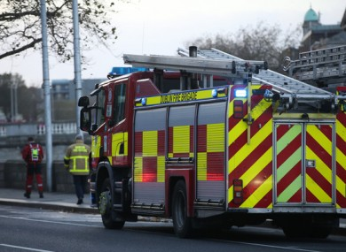 Halloween is always a busy night for fire brigade crews across the country.
