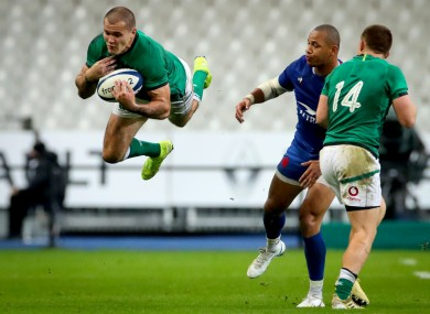 Stockdale made just his second start at 15 for Ireland on Saturday.