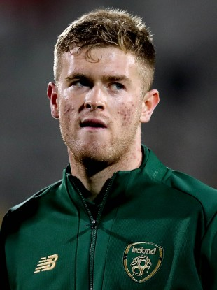 Nathan Collins is expected to feature when Ireland take on Iceland on Sunday.