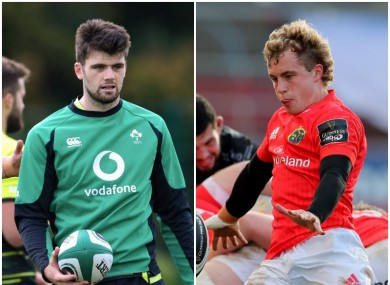 Harry Byrne and Craig Casey are showing promise for Leinster and Munster.