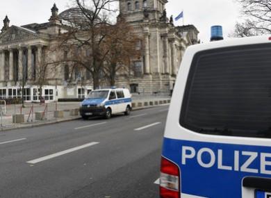 Police in Berlin.