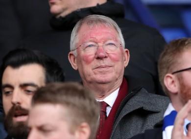 File photo of Alex Ferguson.